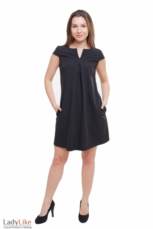 Платье короткое Деловая женская одежда фото