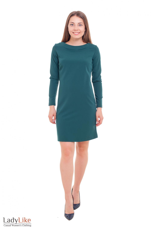 Платье офисное Деловая женская одежда фото