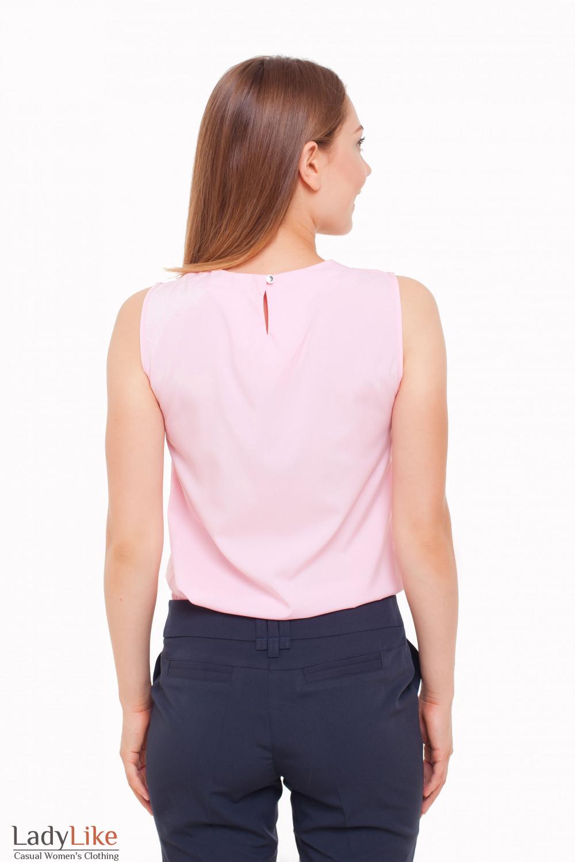 Топ из легкой ткани Деловая женская одежда фото