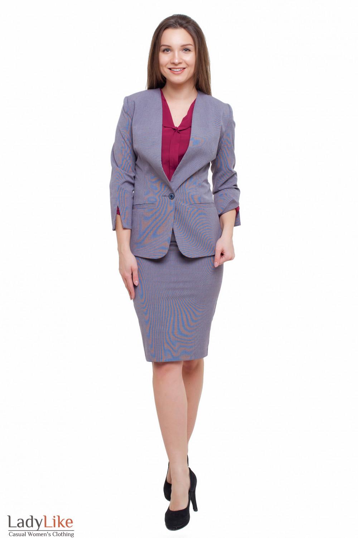 Костюм юбочный Деловая женская одежда фото