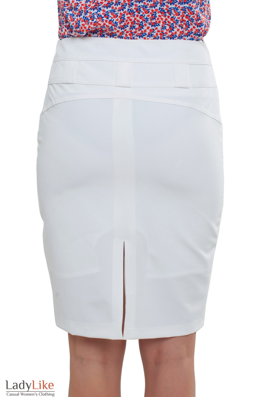 Молочная юбка Деловая женская одежда фото