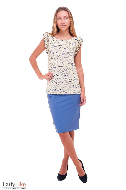 Купить юбку-карандаш Деловая женская одежда фото
