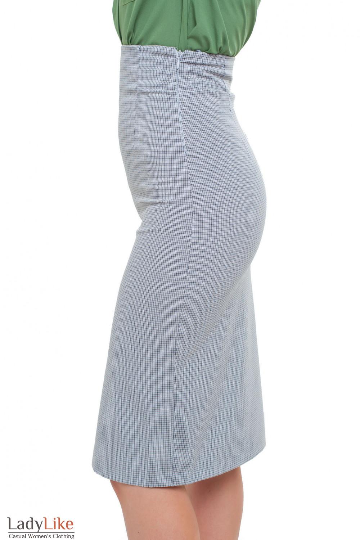 Юбка с молнией сбоку Деловая женская одежда фото