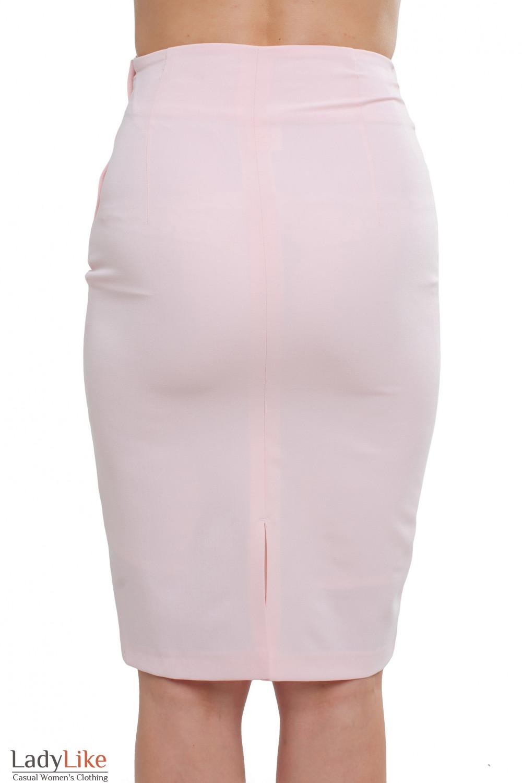 Светлая юбка Деловая женская одежда фото