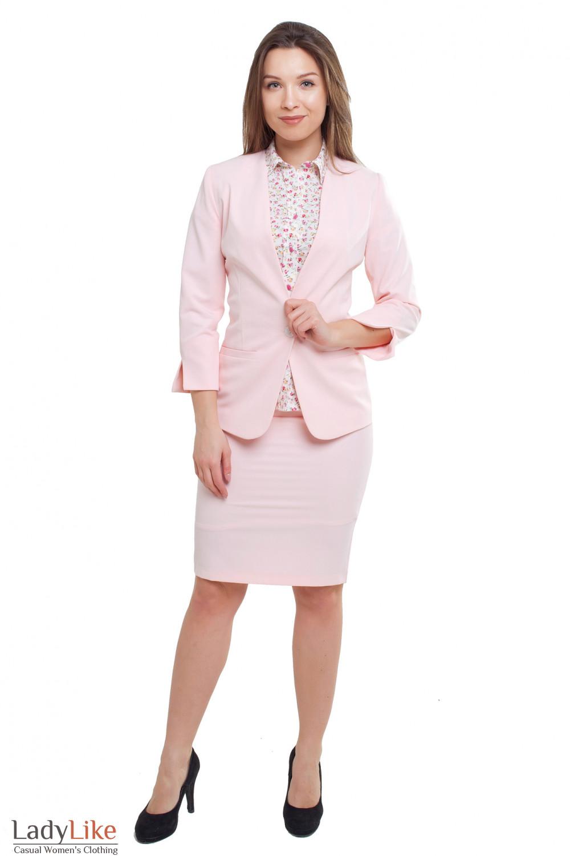 Летний костюм Деловая женская одежда фото