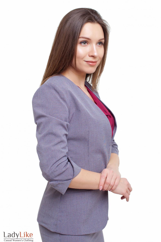 Жакет с коротким рукавом Деловая женская одежда фото