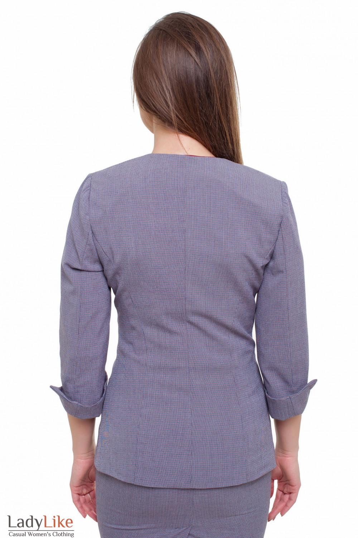 Жакет в лапку Деловая женская одежда фото