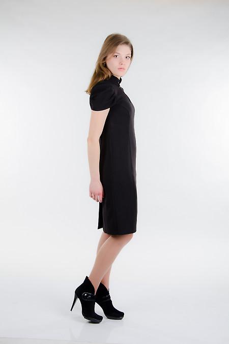 Платье черное Деловая женская одежда