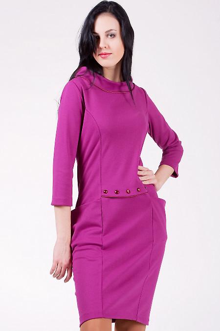 Платье 515r Оригинальное трикотажное платье.