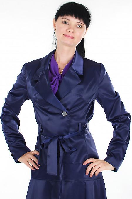 Жакет фиолетовый Деловая женская одежда