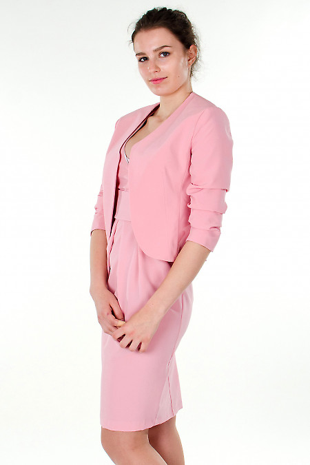 Фото Болеро розовое Деловая женская одежда