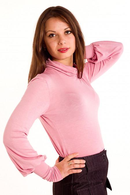 Фото Гольф бледно-розовый Деловая женская одежда