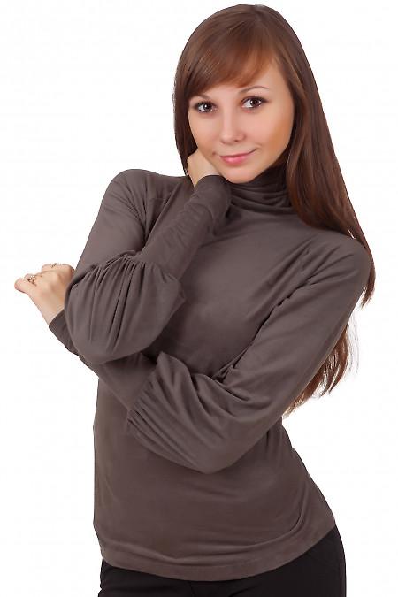 Фото Гольф хаки с красивым рукавом из спандекса Деловая женская одежда