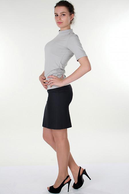 Фото Гольф светло-серый с коротким рукавом Деловая женская одежда