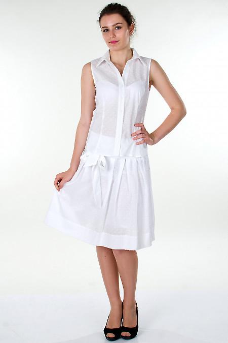 Фото Юбка белая летняя Деловая женская одежда