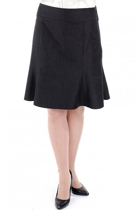 Фото Юбка годе короткая Деловая женская одежда