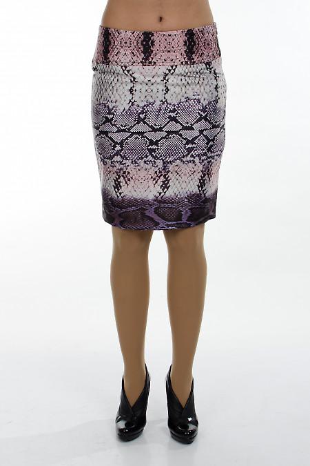 Фото Юбка питон. Деловая женская одежда