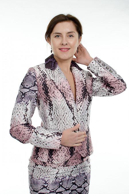 Фото Жакет питон Деловая женская одежда