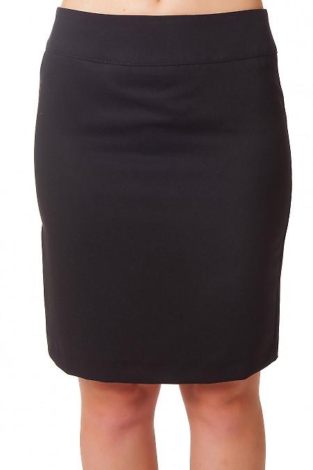 Юбка черная короткая деловая Деловая женская одежда