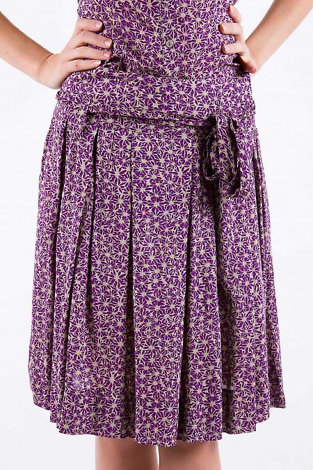 Фото Юбка летняя из хлопка Деловая женская одежда
