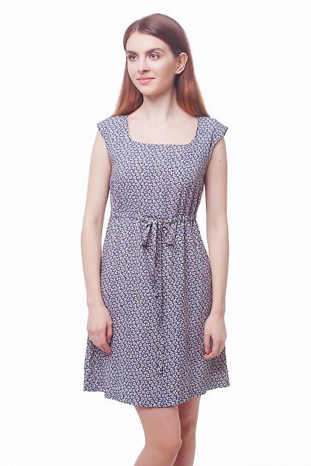 Платье летнее в бежевый тюльпанчик Деловая женская одежда