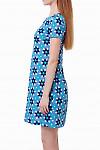Купить легкое бирюзовое платье Деловая женская одежда