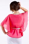 Фото Блузка шифоновая Деловая женская одежда