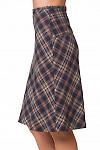 Купить теплую юбку-трапецию Деловая женская одежда