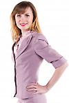 Фото Жакет с три четвертным рукавом Деловая женская одежда