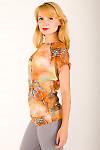 Фото Блузка-туника Деловая женская одежда