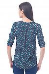 Фото Блузка в цветочек Деловая женская одежда