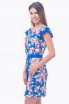Фото Платье с поясом Деловая женская одежда