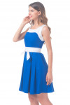 Купить платье с белым поясом Деловая женская одежда