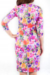 Фото Яркое платье Деловая женская одежда