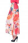 Купить длинную юбку из шифона Деловая женская одежда