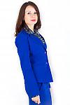 Фото Жакет цвета электрик Деловая женская одежда