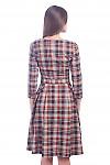 Фото Платье в клеточку Деловая женская одежда