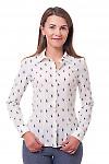 Блузка молочная поло Деловая женская одежда фото