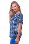 Купить блузку в ромашки с пуговицами Деловая женская одежда