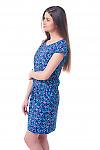 Купить синее платье в буквы Деловая женская одежда фото