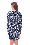 Трикотажное платье Деловая женская одежда фото