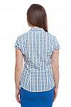 Блузка с коротким рукавом Деловая женская одежда фото