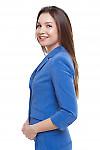 Жакет синий Деловая женская одежда фото
