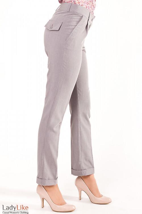 Фото Брюки длиной в семь восьмых Деловая женская одежда