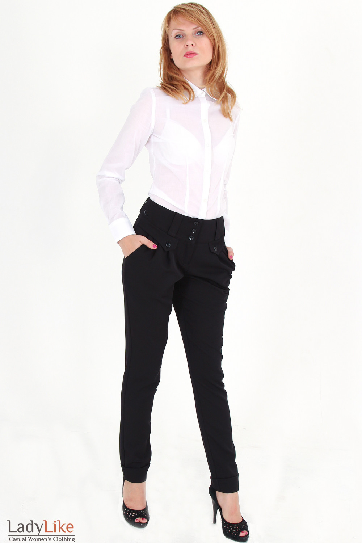 a05e2c544c1 Классическая блуза-рубашка белая — купить в интернет-магазине ...