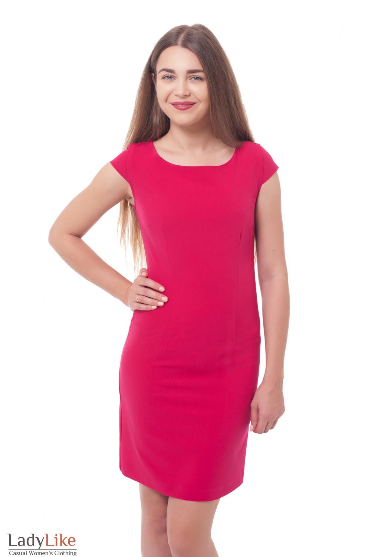 f8a002620a4 Платье-футляр малинового цвета — купить в интернет-магазине ...