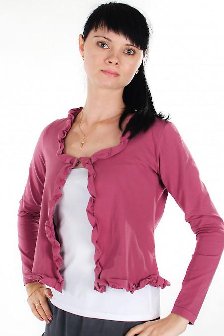 Болеро розовое Деловая женская одежда