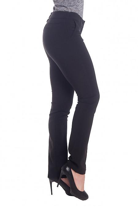 Купить сильно-зауженные брюки черного цвета Деловая женская одежда