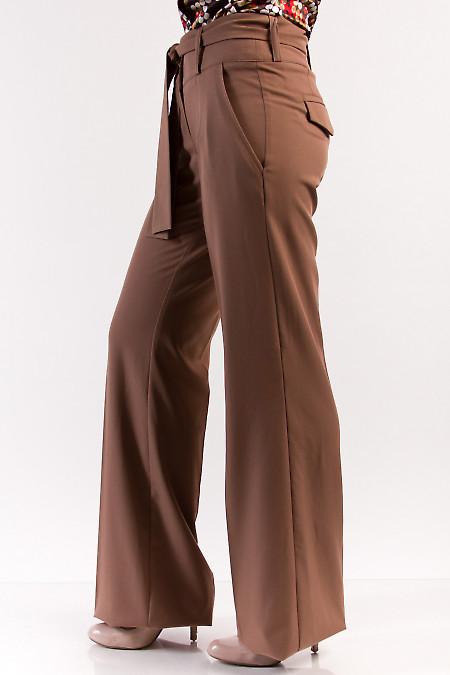 Фото Брюки клеш от бедра Деловая женская одежда