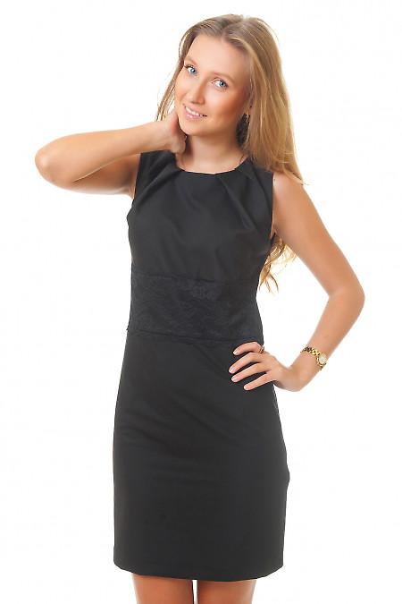 Купить черное строгое платье Деловая женская одежда